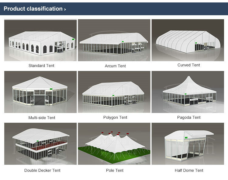 Customized Sizes Modular Gazebo Tents 4x4 Gazebo Tents
