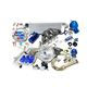 Wholesale fit For Honda Civic Complete Turbo Kits D Series EX/Si 1.6L SOHC VTEC I-4 125HP D16Z6