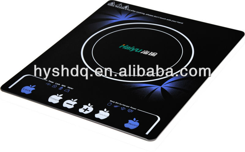 2018 Haiyu New Item Ultrathin Induction Cooker Hot Sales