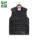Custom Wholesale Body Warmer Clothing Down Jacket Outdoor Puffer Vest