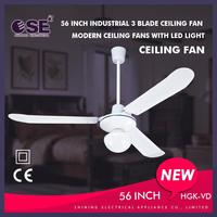 electric ceiling fan with light decoration ceiling fans 56 inch high end ceiling fans HGK-VD