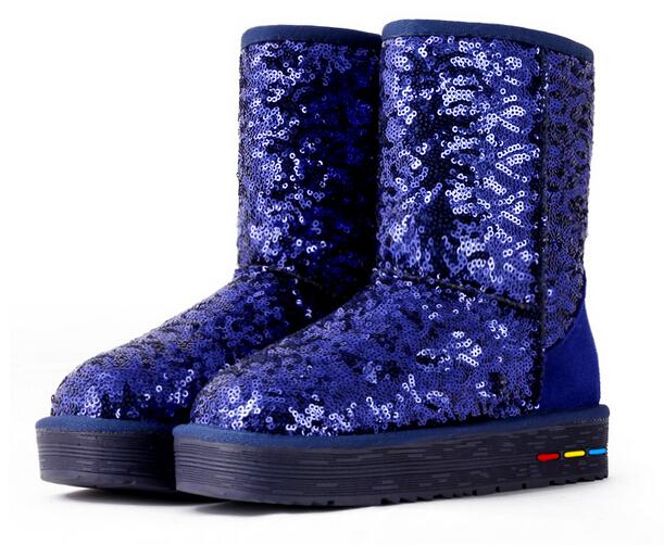 Flat Glitter Shoe Boot