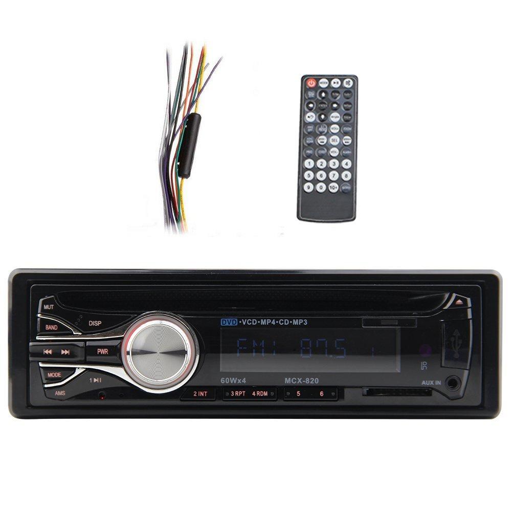 Bluetooth Car Stereo Audio In-Dash FM Aux Input Receiver USB SD MP3 Radio 9528 1din Car CD Player FM Radio Mp3 player with Radio A103