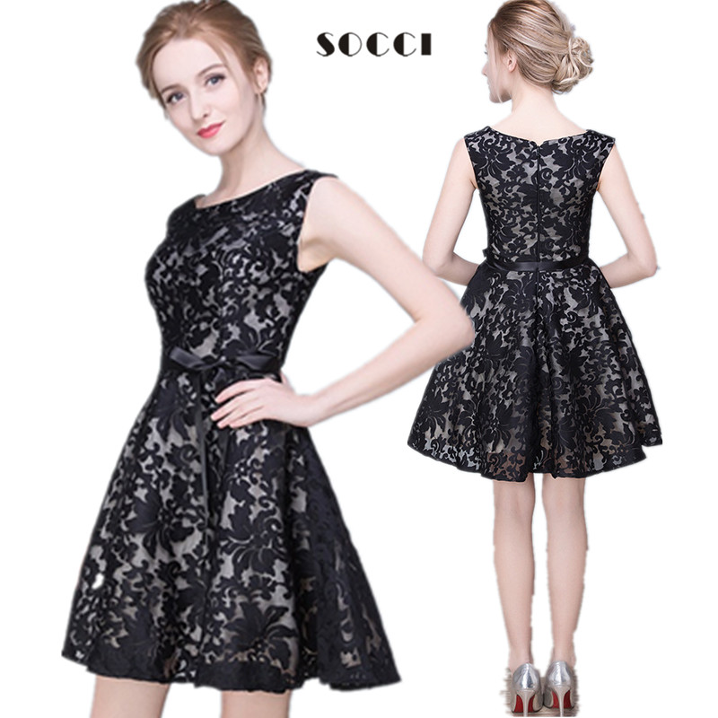 8bee2f5257dc Short Black Cocktail Dresses For Juniors - Discount Evening Dresses