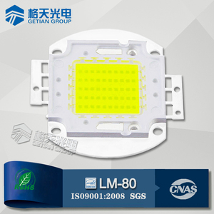 3-5 Years Warranty White/Yellow/Purple/Red/Green/Blue/RGB 30W 50W 100W High Power Bridgelux/Epistar COB LED Lighting