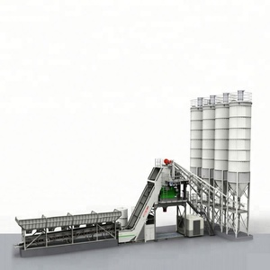 Super High Quality Hzs120 Cement Concrete Batching Plant Germany 120M3/Hour Output