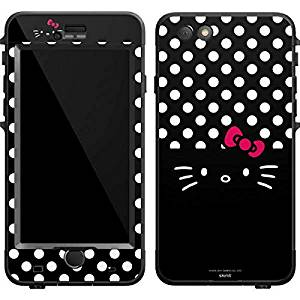 543633af2 Get Quotations · Hello Kitty Lifeproof Nuud iPhone 6 Plus Skin - Hello Kitty  Black Vinyl Decal Skin For