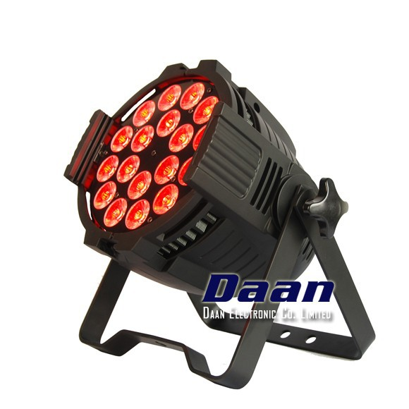 18 x 12W RGBAWUV Par 64 LED Light