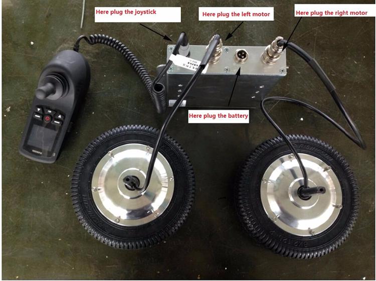 180 W 24 V Kit Motore Del Mozzo Per Sedia A Rotelle Elettrica E Il Sistema Di Controllo Con Joystick Buy Motore Del Mozzo Per Sedia A Rotelle,180 W