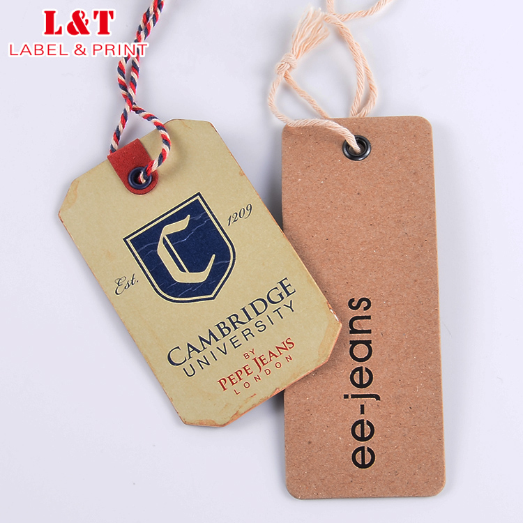 Hot Product Luxury Clothing Hang Tag