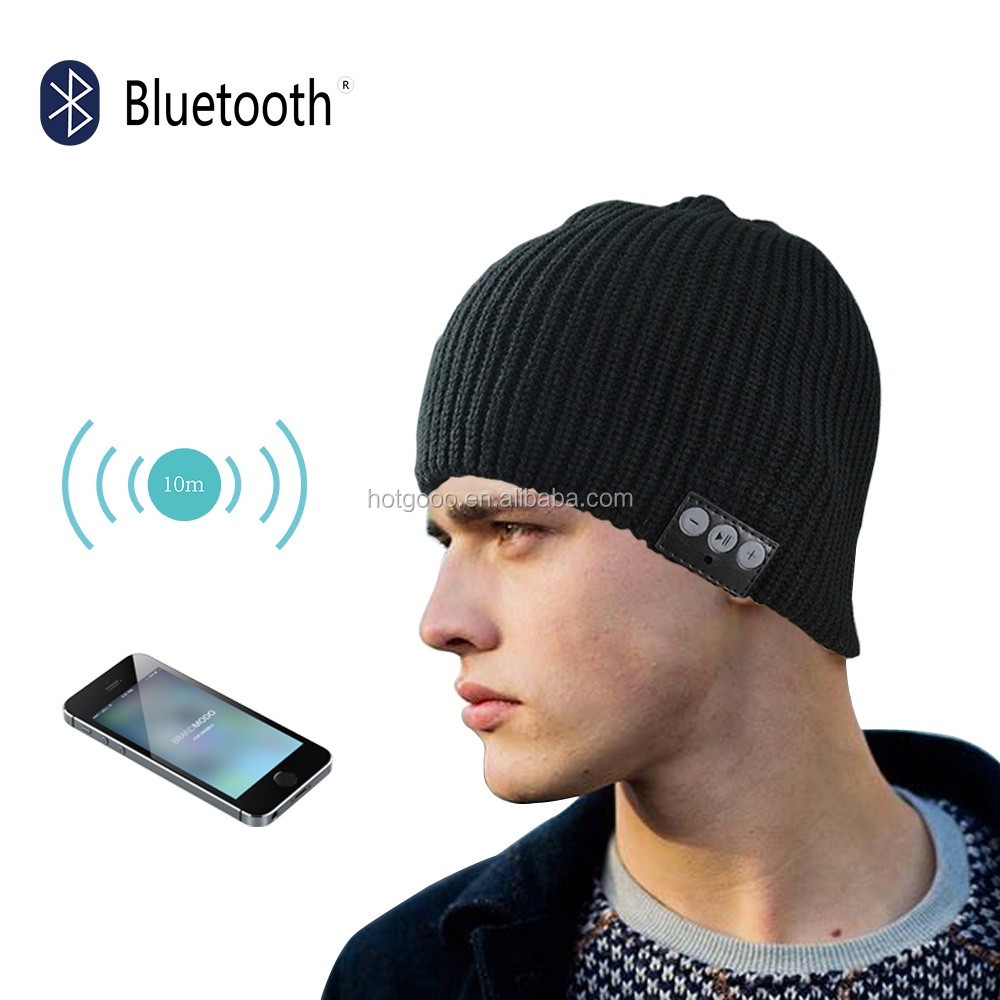 Langder Outdoor Sport Wireless Stereo Music Bluetooth Hat Winter