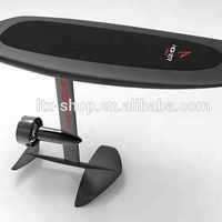 Cool Adult Water Sports Electric Aqua Jet Surfboard, Balancing Remote Control 50Km/h Electric Sea Scooter Flying Wakeboard