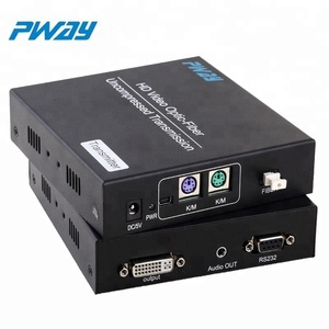China wholesale built-in ESD protection system fiber optical converter audio video