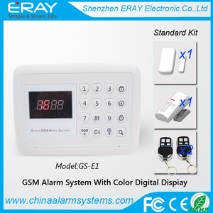 Promotion product!!! Colorful digital Home Automation Wireless Gsm Security Burglar Alarm System