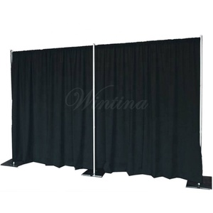 Wholesale Wintina pipedrape adjustable pipe frame trade show exhibition booth portable fabric restaurant room dividers