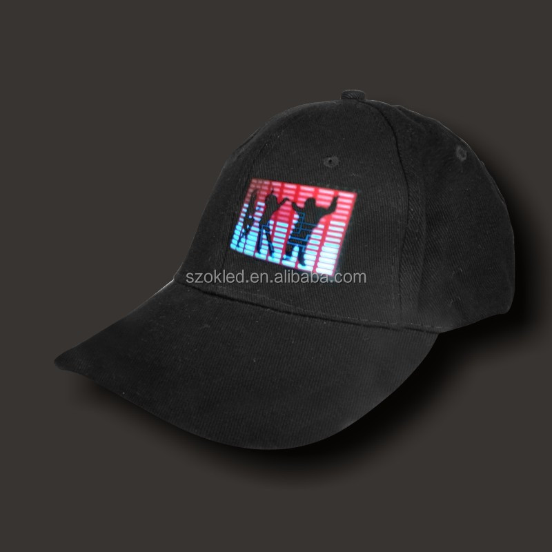 Hot sale! EL Equalizer Lighted Music Party Caps
