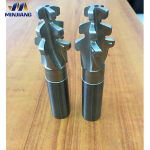 Solid Tungsten Carbide End Mills for Turbines Fir Tree Cutter Christmas Milling Cutter