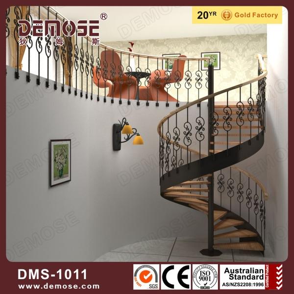 Außen wendeltreppe metall eingesetzt design treppe produkt id ...