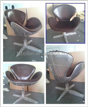 aluminumfiberglass swan chair vintage aviator chair vintage