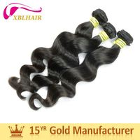 Latest Model Double Machine Wefted unprocessed indian 100 human hair