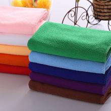 10pcs/Lot Dish Towel Fiber Dishcloth Dishrag Duster Wash Cloth Hand Towel