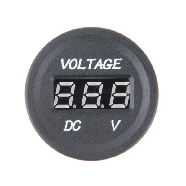 Professional 12V-24V Car Motorcycle LED DC Digital Display Voltmeter Waterproof Meter
