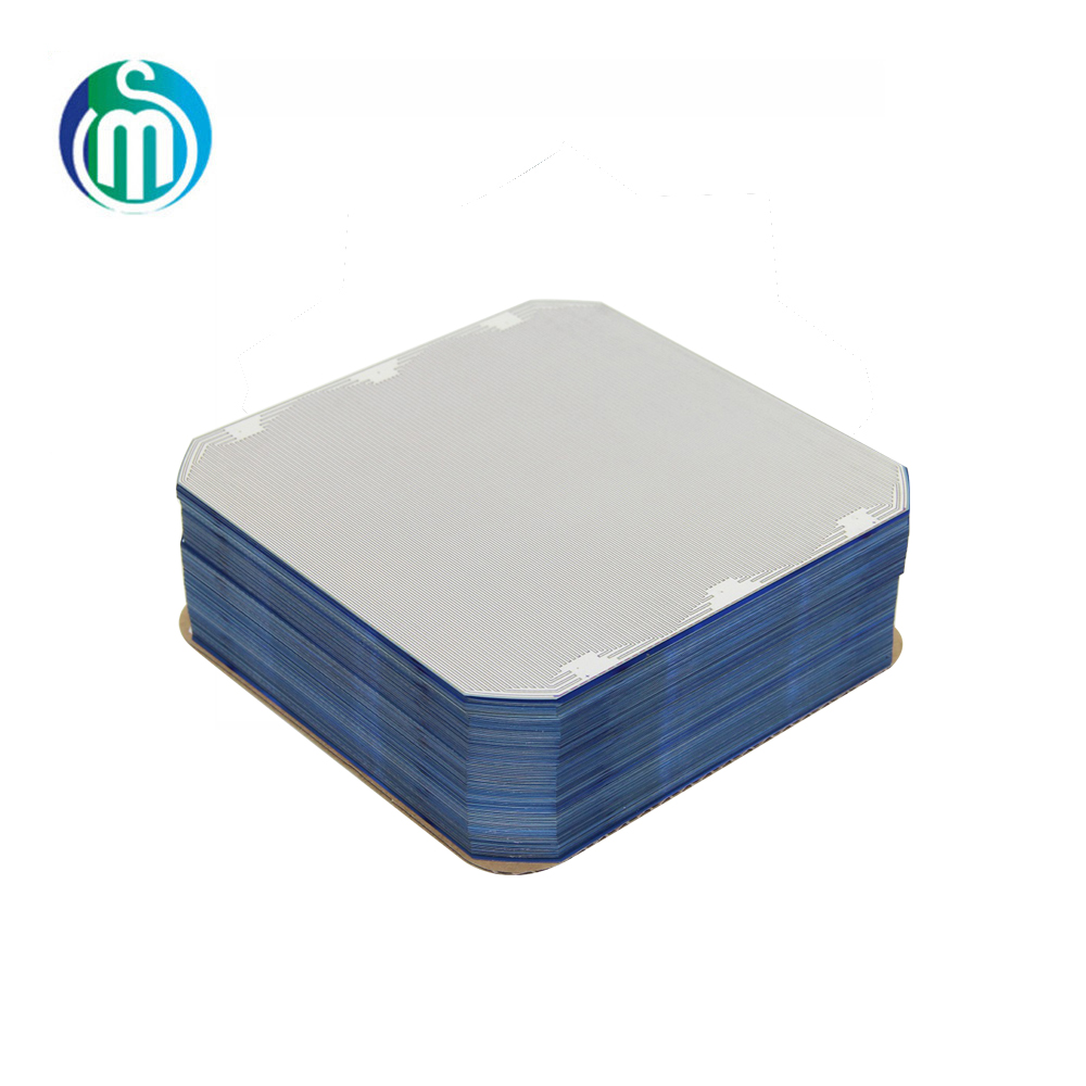 High level high efficiency silicon wafer for sunpower solar cell 125*125mm with high reputation