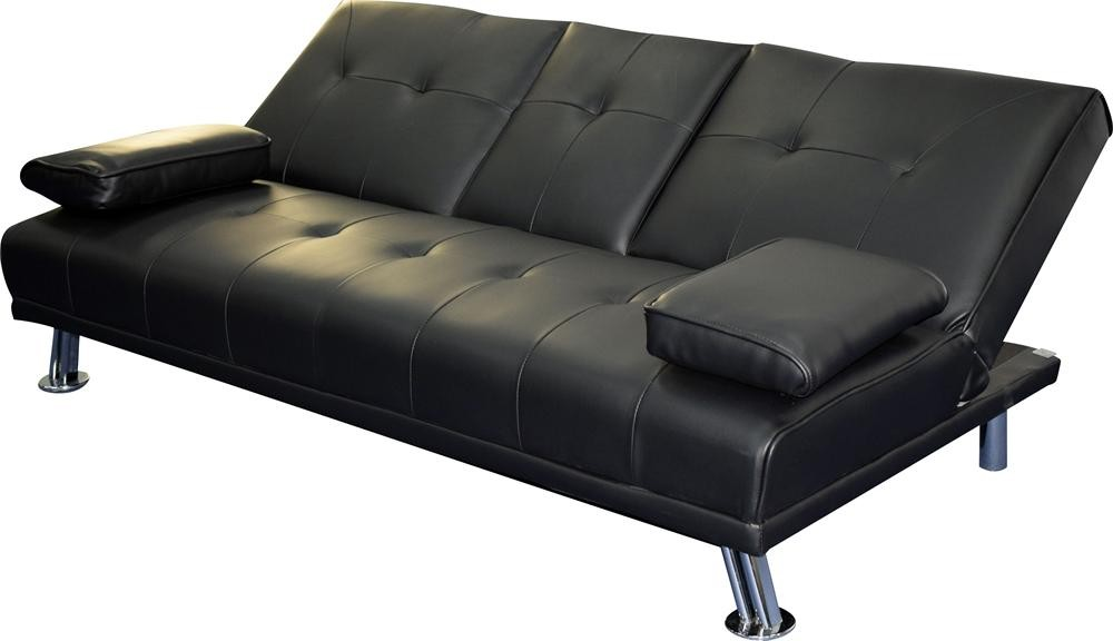 Single Chair Sofa Bed, Modern Sofa Cum Bed Design, Two Seat Dunlop Wooden  Sofa