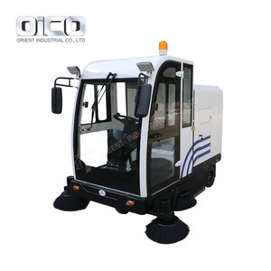 2018 Brand New E800LD Airport Runway Sweeper Electric Self Discharging Road Sweeper