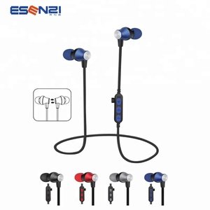 ESENZI MS-T2 With TF Card Slot Wireless Sports Headphones Magnetic Smart Wireless Running Headphones Factory Wholesale