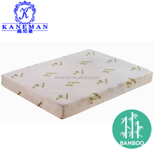 American standard CFR1633 bamboo fireproof memory foam mattress with roll packing