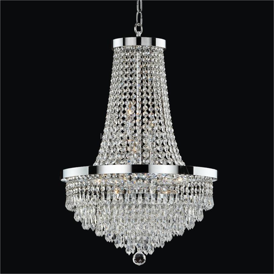 Wholesale Chrome Plated Cheap Crystal Chandelier Light 71022 Buy Chandelier Light Crystal