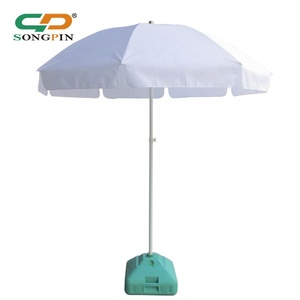 Pop up full color outdoor beach parasol/sun umbrella