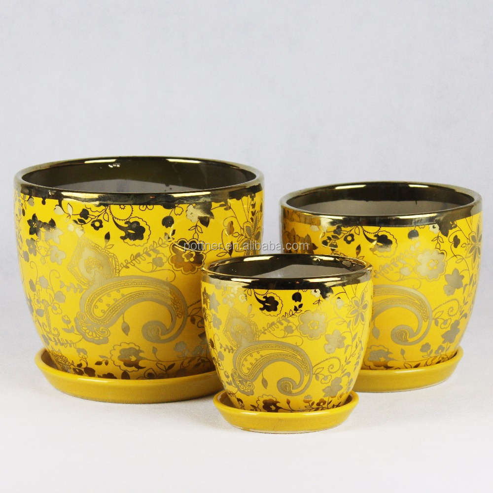 Decal Ceramic Flower Pot Decal Ceramic Flower Pot Suppliers And