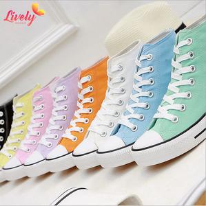 China Coloured Canvas Shoes, China