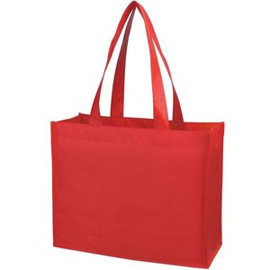 Custom Made Shopping Bags On Aibaba.Com High Quality Non Woven Bag With Handle Eco Bag Shopper