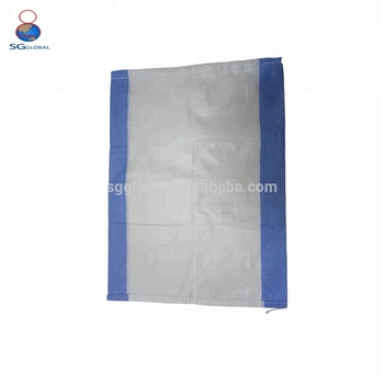 Alibaba China 25kg 50kg pp woven agriculture food bag pack
