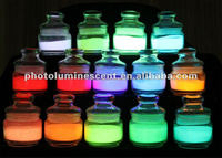 Glow in the dark pigment/luminous pigment/photoluminescent pigment