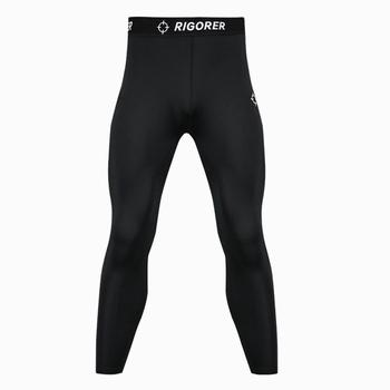 Latest Plush Compression tights men fitness pants men's running pants