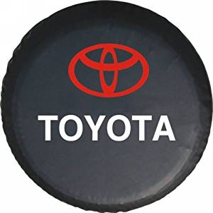 "Toyota Suvs Rav4 Cruiser Spare Wheel Tire Cover Protector Soft Case 27""28""29"" M"