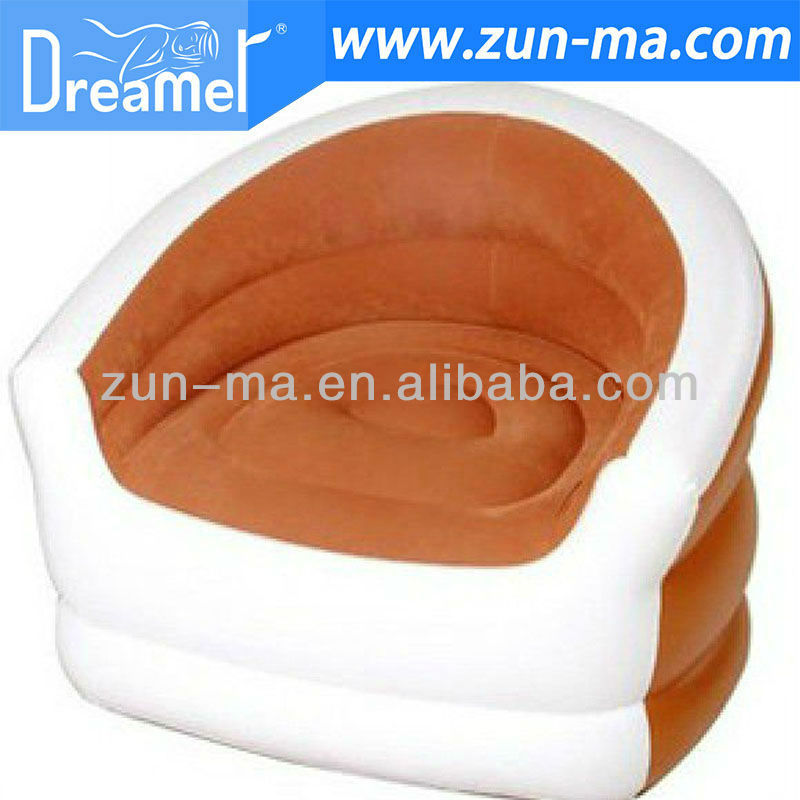 Inflatable beach camping sofa stool