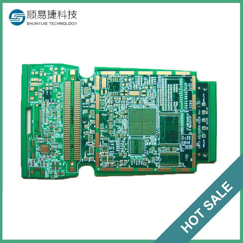 China manufacturer hdi fr4 double sided 4 layer remote control pcb