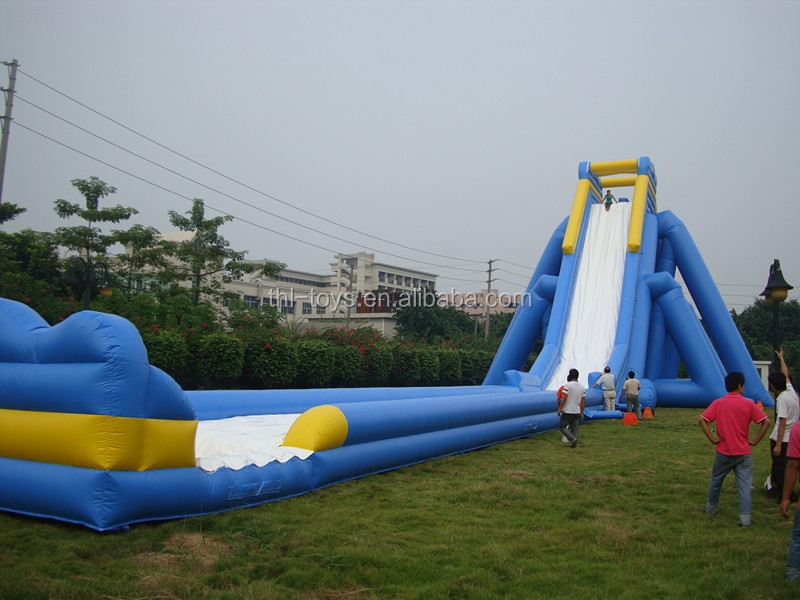Huge Backyard Water Slide : Inflatable Big Water Slides For Salebackyard Inflatable Water Slides