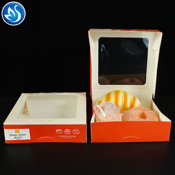 Customized cake boxes with window boxes manufacturer for wholesale