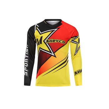 Sublimation Sport Jersey Bike Cycling Downhill Bicycle Jersey Clothing