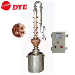 50L-200L alcohol product equipment stainless steel pot still home distiller