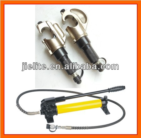 hydraulic crimper head, hydraulic hand pump operated