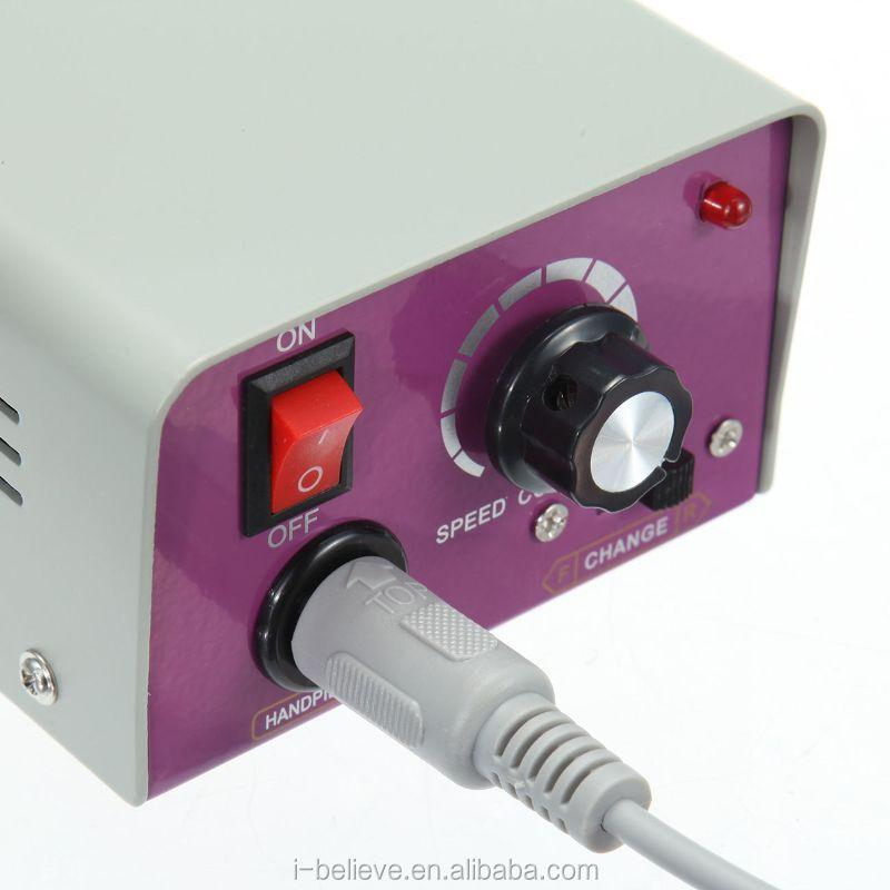 Professional Electric Nail File Acrylic Pedicure Drill Sand Machine ...