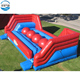 Wipeout inflatable course games for sale,adult inflatable wipeout big baller sport obstacle course game
