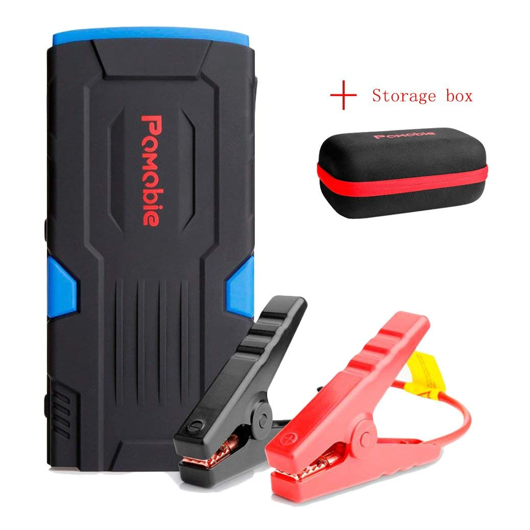As Shown, 300 Amp Multifunctional Car Jump Starter with 1000 Times Cycle Life Portable External Battery Charger 300A Peak Emergency Auto Heavy Duty Jumper for Sedan Truck,Van,SUV Laptop and More